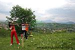 Tir cu arcul in zona Brasov-Bran-Moeciu